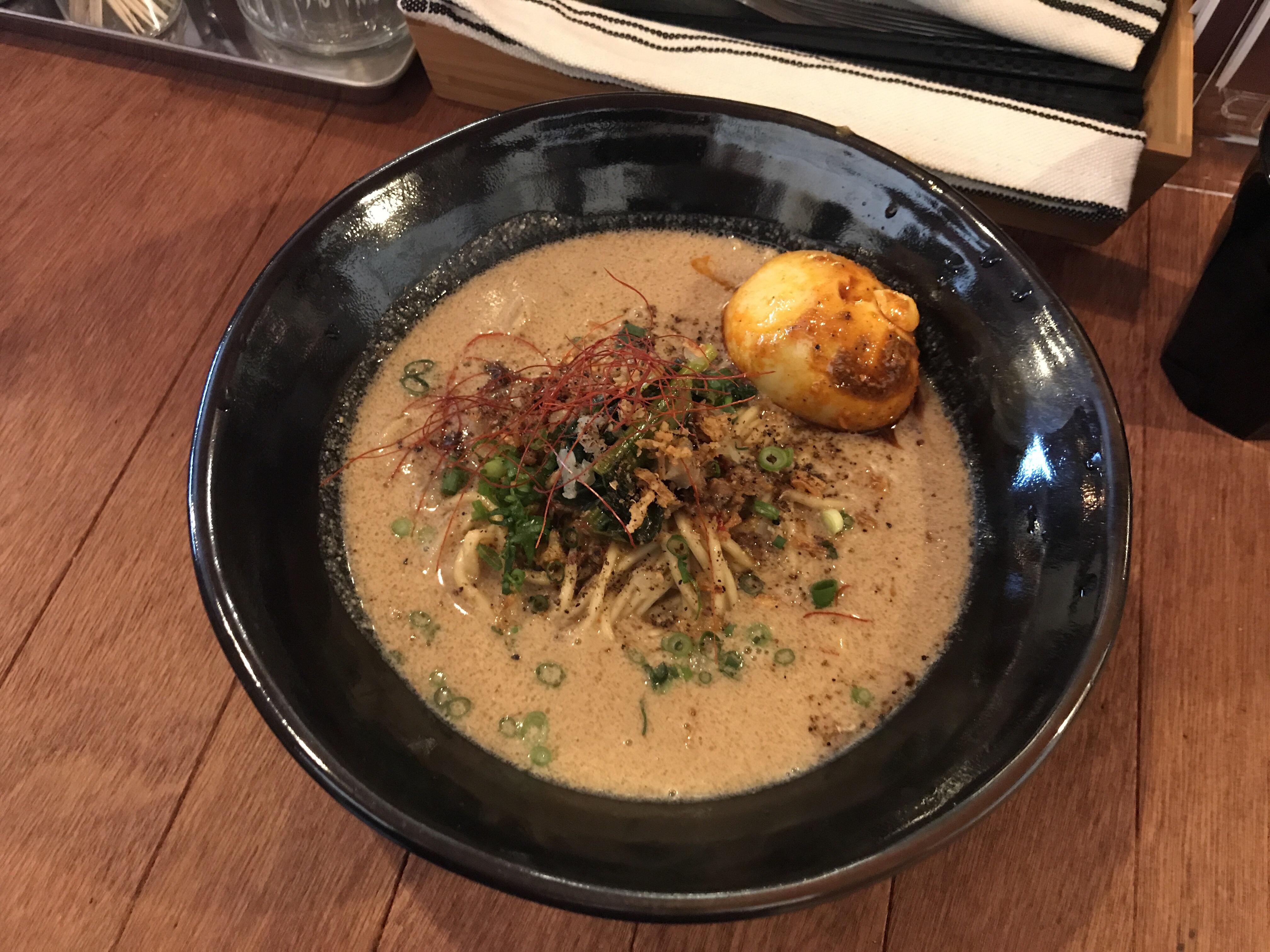 味玉九龍担々麺